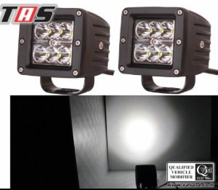 Aksesoris Offroad SPOT LED WORK LIGHTS 12V 18W 2PCS 2 2pcs_18w_spot_led_work_lights_12v_2_