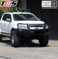 Chevrolet Colorado BUMPER DEPAN FOREST COLORADO TAS4X4 bumper depan 1