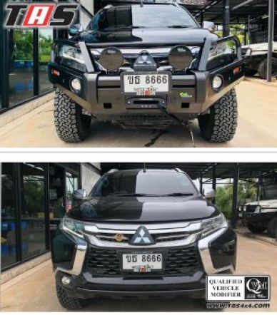 Pajero Sport All New BUMPER DEPAN IRONMAN ALL NEW PAJERO SPORT 1 bumper_depan_ironman_all_new_pajero_sport_tas4x4_1