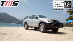 Triton 2015+ BUMPER DEPAN NO LOOP FOREST ALL NEW TRITON TAS4X4 bumper dpn