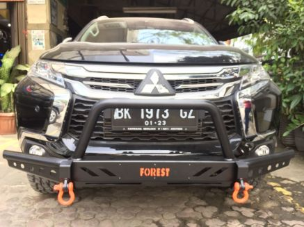 Pajero Sport All New BUMPER DEPAN FOREST ROCKY BAR PAJERO SPORT ALL NEW 4 img_20180823_wa0041
