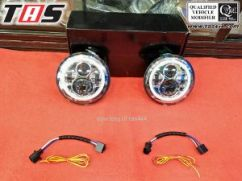 Jeep Wrangler JK/TJ LAMPU HEADLIGHT LED JEEP WRANGLER  lampu headlight ledjeep jk 7  tas4x4 1
