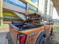 Navara Np300 ROLLBAR WITH ROOFRACK WILD FOREST NISSAN NAVARA NP300 TAS4X4 rollbar with roofrack wild forest nissan navara np300 tas4x4 1