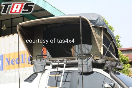 Aksesoris Offroad ROOFTENT OPEN IN ONE SIDE MANUALLY TAS4X4 2 tent_2